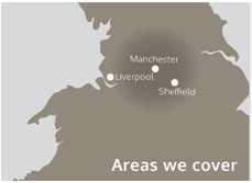 Stone Cleaning Manchester Map